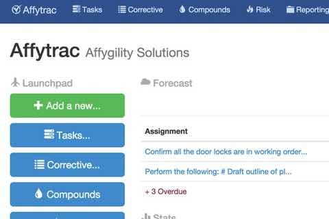 Affytrac home page